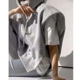 Street Style Loose Gray Hoodie