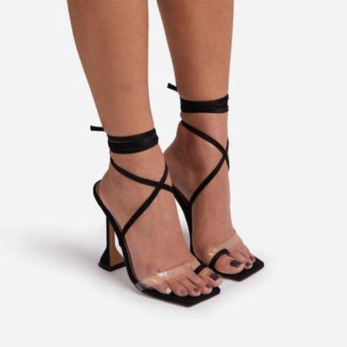 Women's High Heel Strappy Sandals