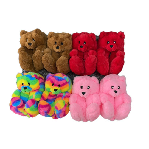 Big Kids Teddy Bear Indoor Slipper