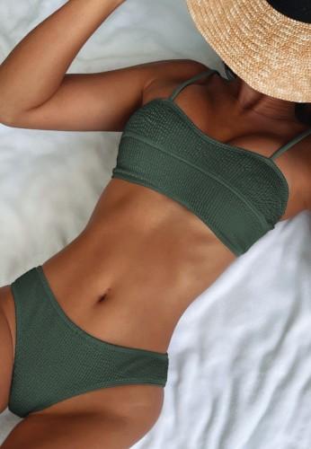 Green Cami Bikini 2PCS Set