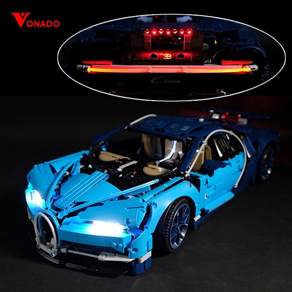 Bugatti Chiron Light Kit for 42083