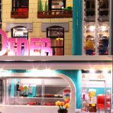 Downtown Diner Light Kit for 10260