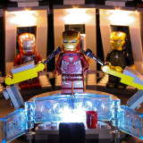 Iron Man Hall of Armor # 76125