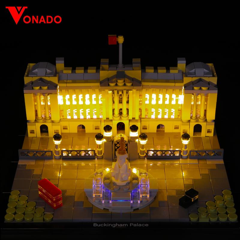 Buckingham Palace Light Kit for 21029