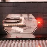 Star Wars Docking Bay 327 Hanger MOC for minifig scale UCS Falcon