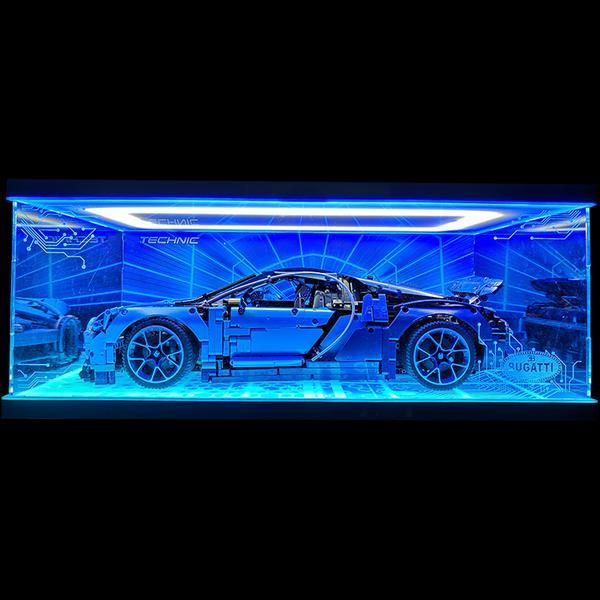 Acrylic Display box -BUGATTI CHIRON #42083