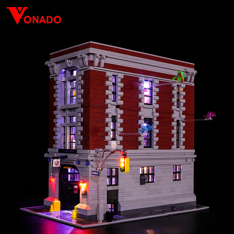 Ghostbusters Firehouse Headquarters Light Kit for 75827