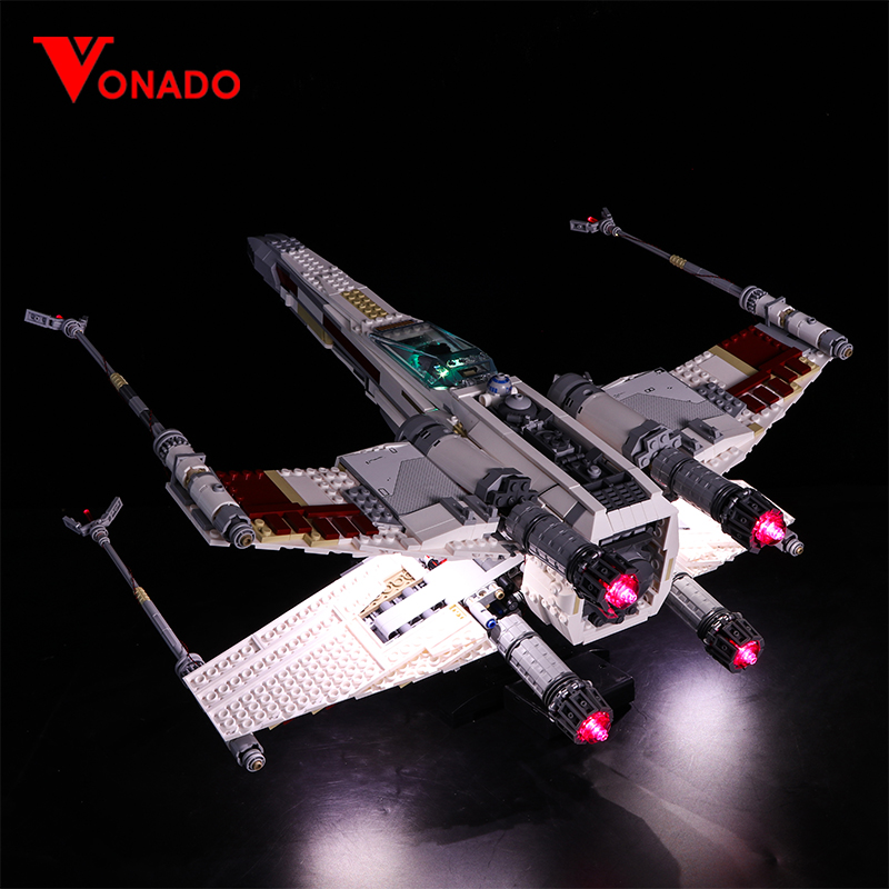Star Wars UCS Red Five X-wing Starfighter Light Kit for 10240