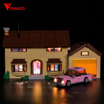 The Simpsons House Light Kit for 71006