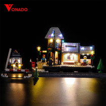 Winter Village Station Light Kit for 10259