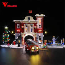 Winter Village Fire Station Light Kit for 10263