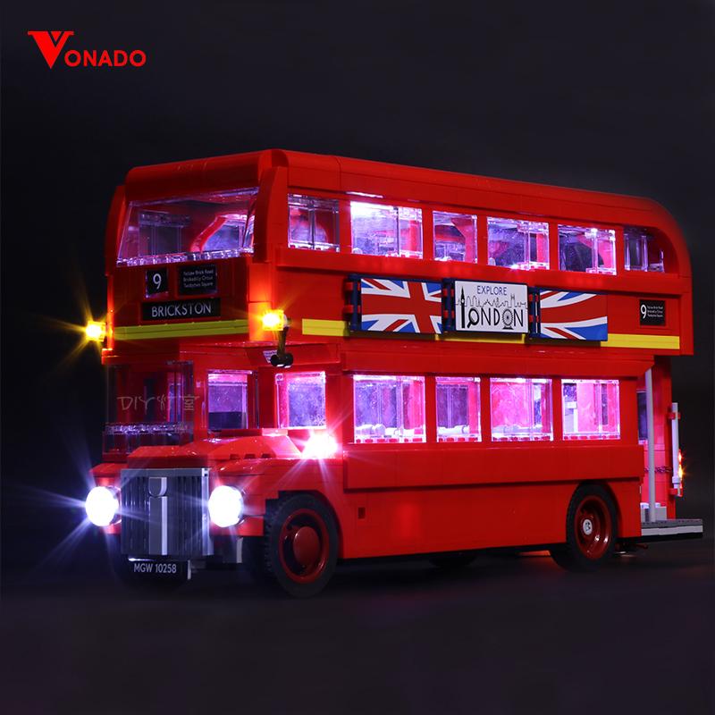 London Bus Light Kit for 10258