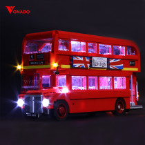 London Bus Light Kit for 10258