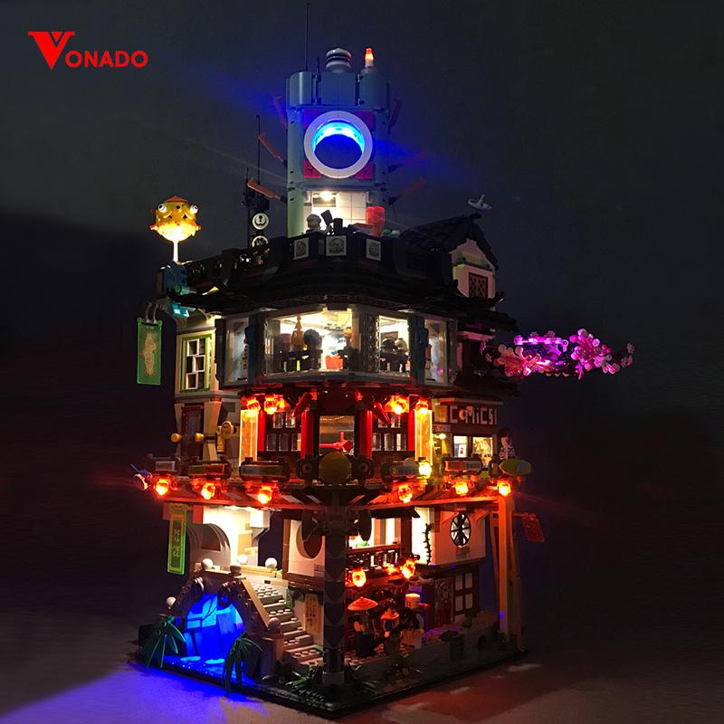 Ninjago City Light Kit for 70620