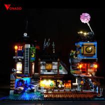 Ninjago City Docks Light Kit for 70657