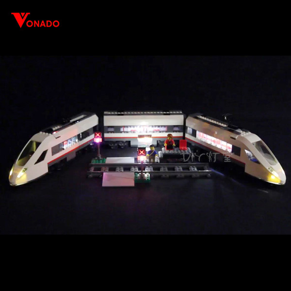 High-speed Passenger Train Light Kit for 60051