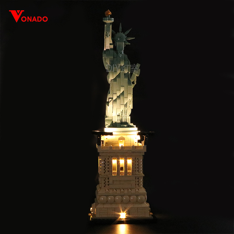 The Statue of Liberty Light Kit for 21042