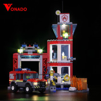 City Downtown Fire Brigade Light Kit for 60216