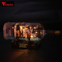 Ship in a Bottle Light Kit for 21313