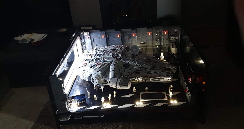 US$ 461 22 - Star Wars Docking Bay 327 Hanger MOC for