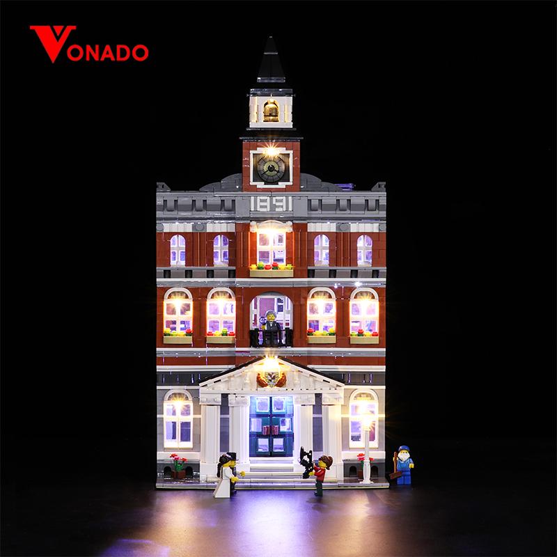 Town Hall Light Kit for 10224