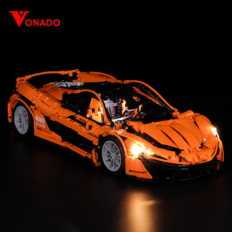 McLaren P1 hypercar 1:8 Light Kit for XQ 1001