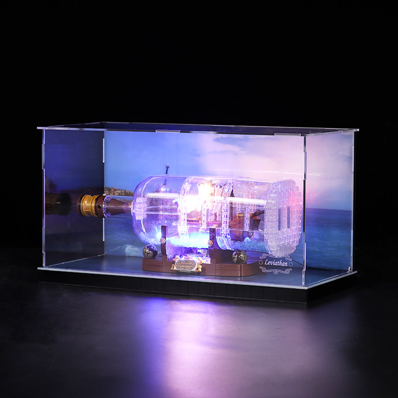 Acrylic Display box - Ship in a Bottle #21313