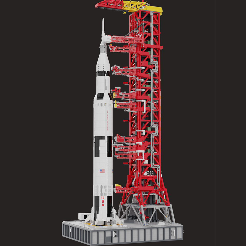 NASA Saturn-V Launch Umbilical Tower