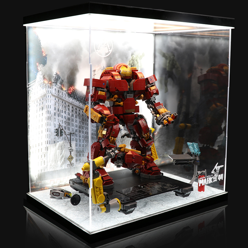 Acrylic Display box -The Hulkbuster Ultron Edition #76105