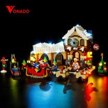 Santa's Workshop Light Kit for 10245