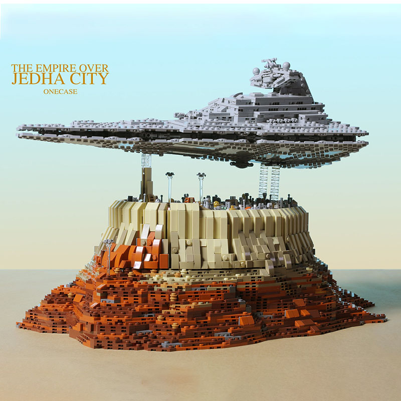 The Empire over Jedha City By Onecase