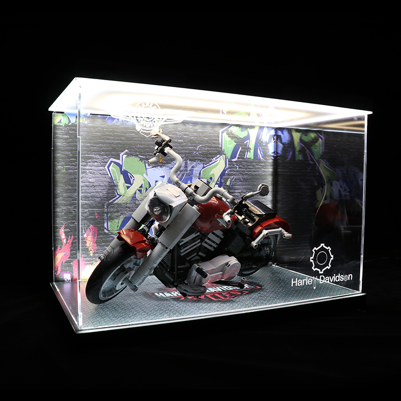 Acrylic Display box - Harley- Davidson  Fat Boy 10269