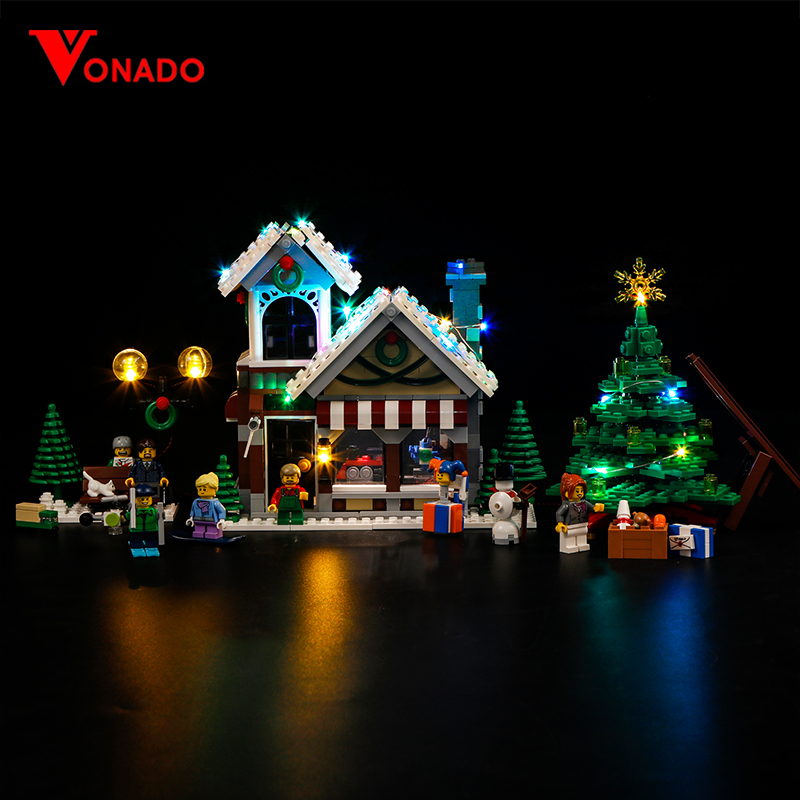Winter Toy Shop Light Kit for 10249