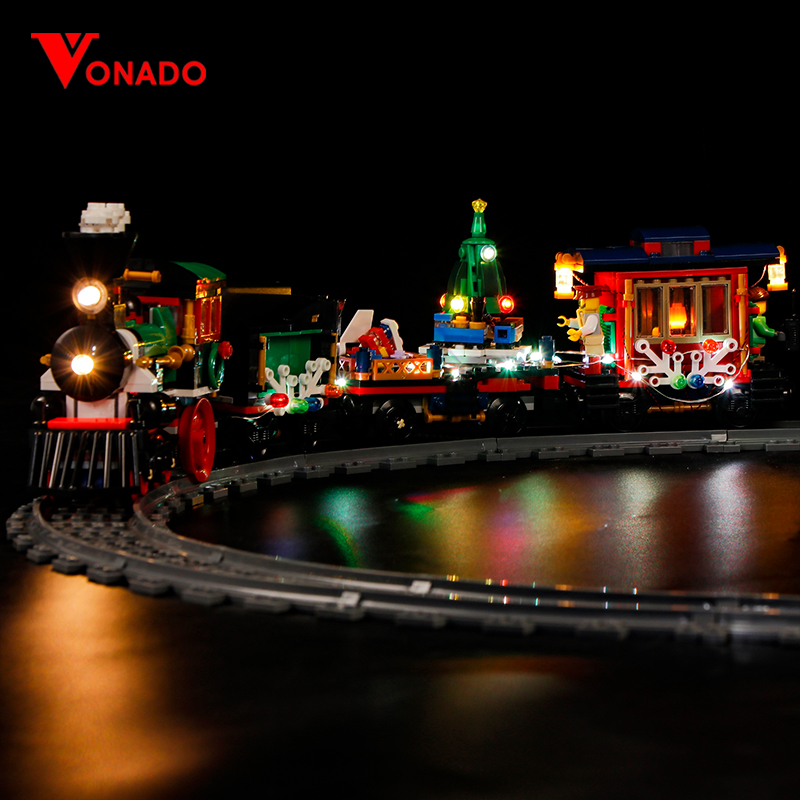 Winter Holiday Train Light Kit for 10254