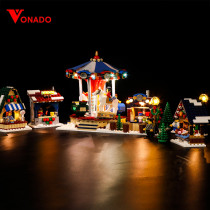 Winter Village Market Light Kit for 10235