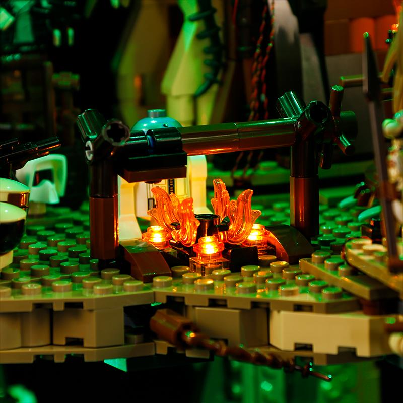 Lego Ewok Village 2 Star Wars Instructions Custom Base Endor Return of the Jedi
