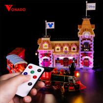 Disney Train and Station Light Kit for 71044