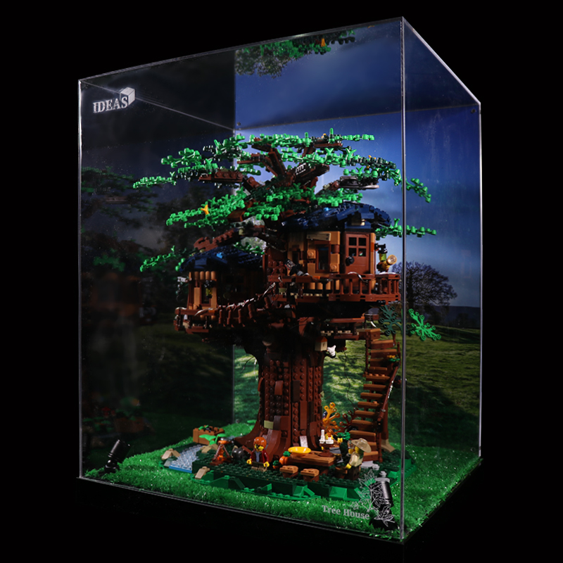 Acrylic Display box -  Ideas Treehouse  # 21318