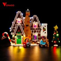 Gingerbread House Light Kit for 10267