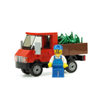 MOC-14908 Red truck