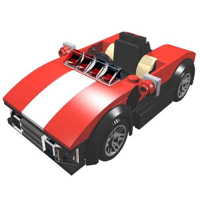 MOC-4284 Red Roadster