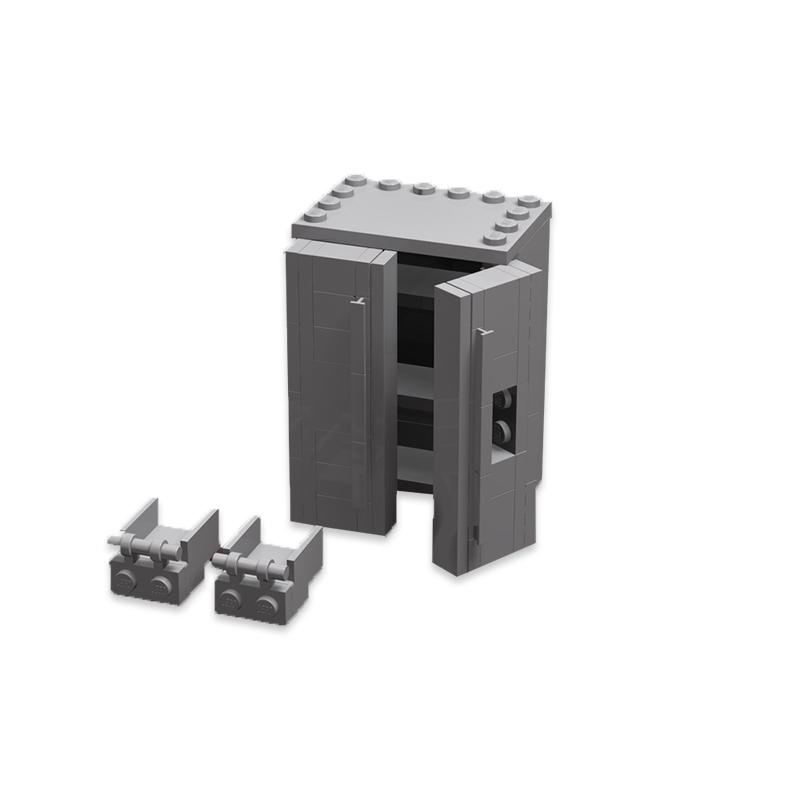 MOC-12322 Modern Refrigerator