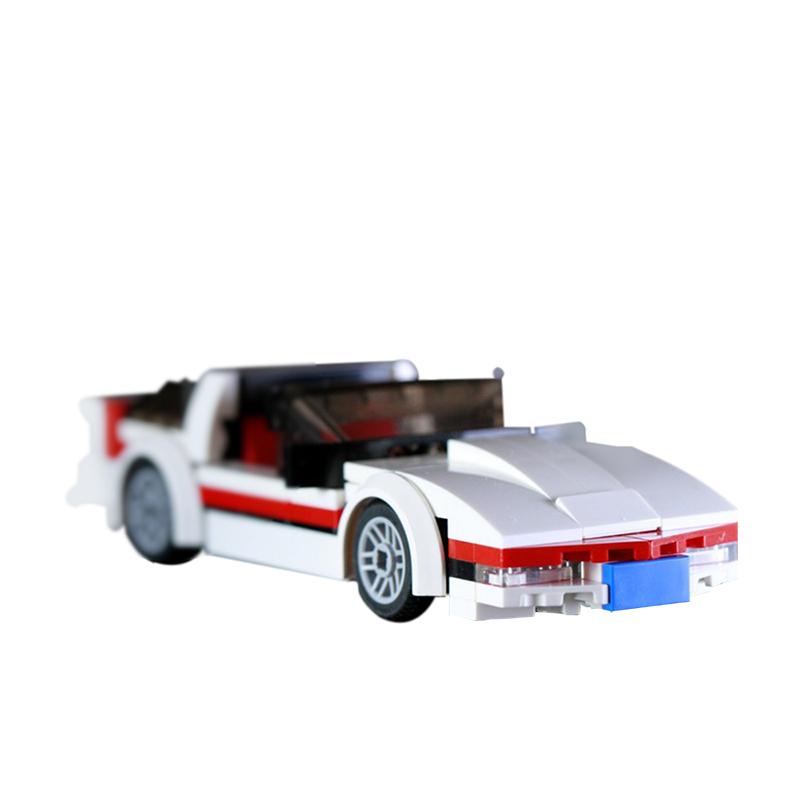 MOC-11247 The A-Team Faceman's Corvette C4