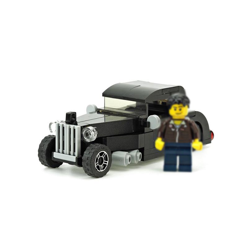 MOC-10022 Black Hot Rod