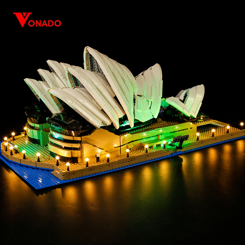 Sydney Opera House Light Kit for 10234