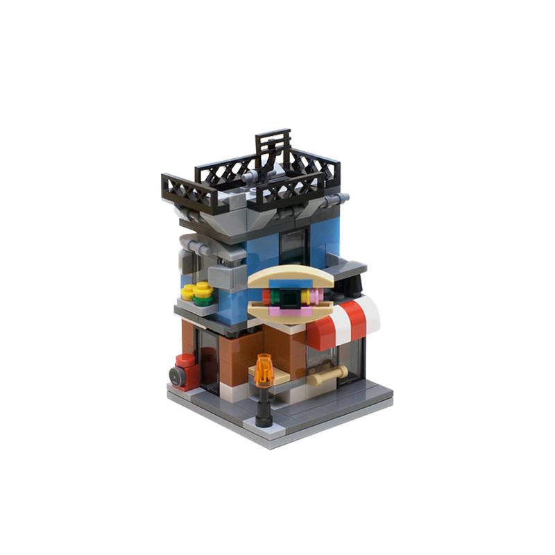MOC-4808   Mini Modular: Corner Deli