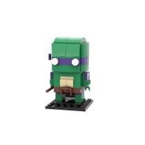 MOC-18374 Brickheadz - Donatello