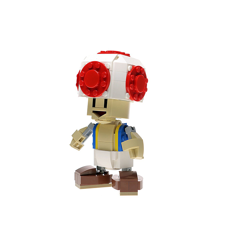 MOC-13505 Custom Toad Figure