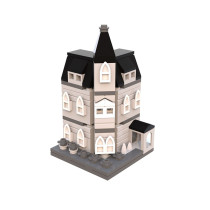 MOC-12846 Addams Family Mansion mini modular