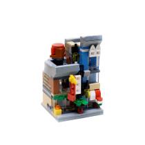 MOC-4809 Mini Modular: Detective's Office